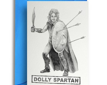 Dolly Spartan Card