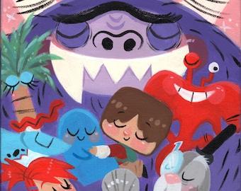 A Big Group Hug! -Print