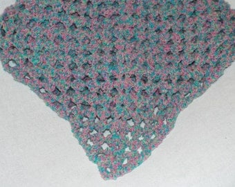 Cotton Candy Colored Baby Blanket