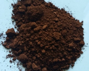 Matte Darker Chocolate Iron Oxide DIY Soap Color Make Up Colorant Cold Process Melt Pour Cosmetic Foundation Pigment Brown Powder Dark Eye