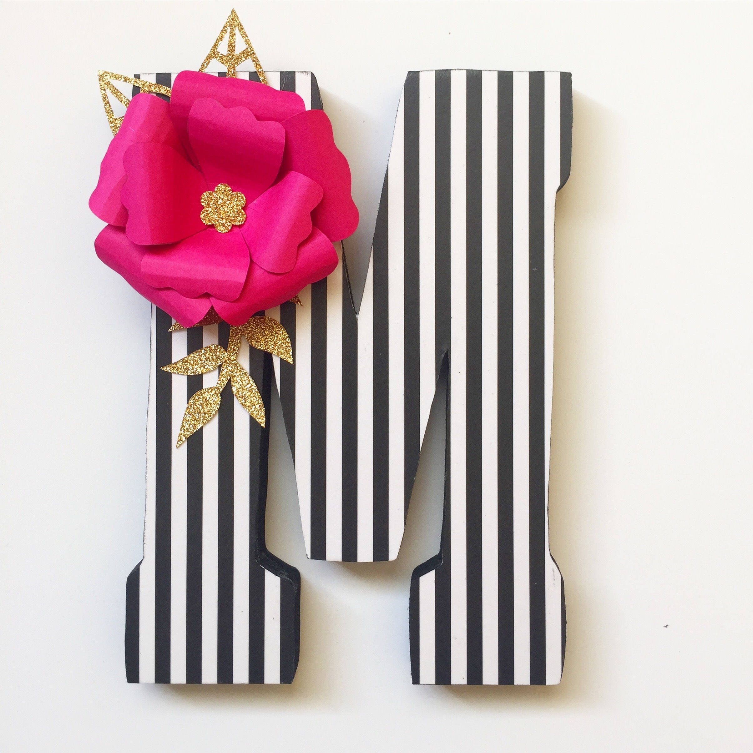 Kate Spade Inspired Letter Home Decor Party Decorations