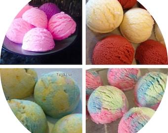 Bubble Scoops, Ice Cream Scoop,Bubble Scoop, Bubble Bath Melts