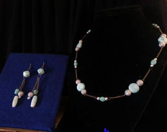 Silver and Turquoise Jewelry Set