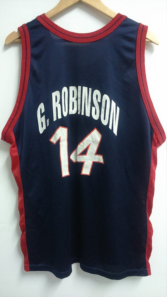 2bfb1d1d1df hot sale 2017 Rare Vintage Champion G.ROBINSON Basketball Jersey by  affzancromok