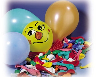 Balloons, 100 pieces mixed for crafting