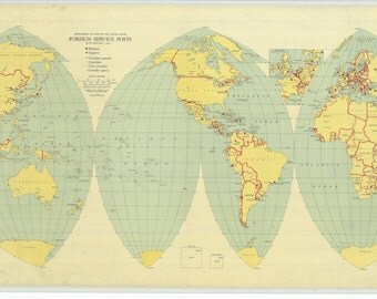 Department of State of the United States - Foreign Service Posts - 1937