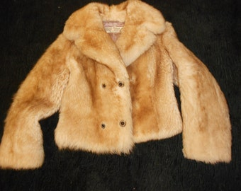 From the sixies real sheepskin fur coat