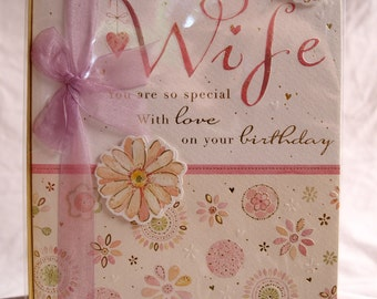 To My Wife You are so Special Birthday Card