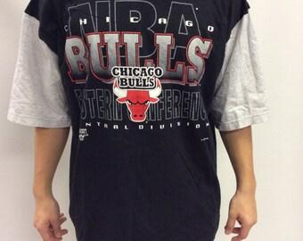 Chicago Bulls Hooded T Shirt XL