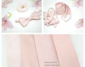 No#180#169#148#98, semi shiny Eden blush ties,pink blush,medium,dusty blush rose,groomsmen,men,pink blush rose, misty blush wedding neckties