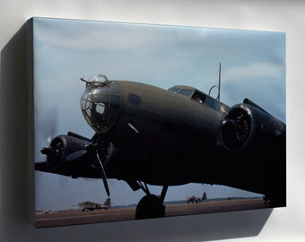 Canvas 24x36; B-17 Flying Fortress May 42 Langley Field