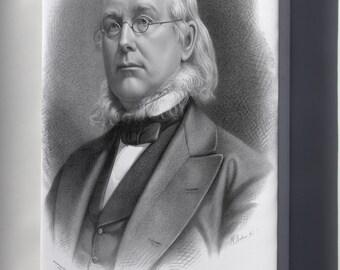 Canvas 24x36; Horace Greeley Baker.Jpeg_Files