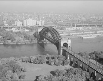 16x24 Poster; Hell Gate Bridge From West Looking Northeast 348973Pv