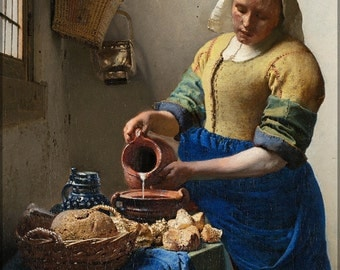 16x24 Poster; The Milkmaid By Johannes Vermeer P2