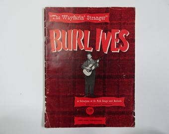 Burl Ives 'The Wayfarin' Stranger' FolkSsongs and Ballads 1945
