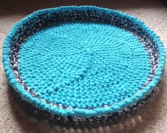 Crochet Pet Bed Basket