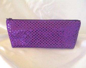 Purple Sequin Clutch - Purple Sequin Bag - Bridesmaid Sequin Clutch - Holiday Clutch - Special Occasion - Winter Formal Clutch