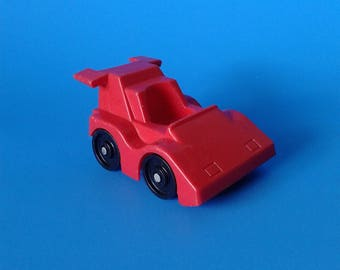 "Fisher Price Little People "" #2450 Race Car "" 1980's"