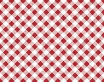 Sew Cherry 2 - Gingham Red