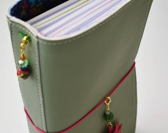 Amidori Fauxdori Traveler's Notebook - Exclusive Springtime Theme With Reinforced Spine