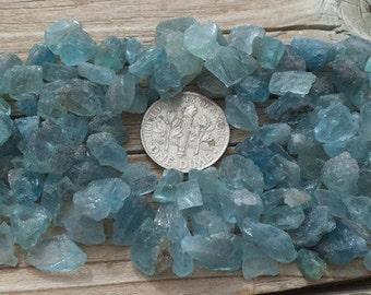 Sale, raw aquamarine, gemstone cabochon, rough aquamarine, crystal healing, chakra, wiccan, healing crystals, gems, minerals, pagan, stones