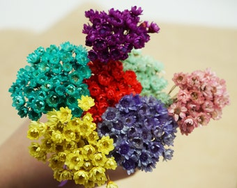 50 pcs mini star daisy,real natural dried flowers for Filler of the glass bottles,Decor Floral Supplies(122-45)