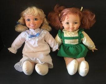 Vintage 1990 Northern Tissue Dolls