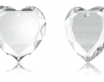 Swarovski 6225 - Heart Crystal Pendant