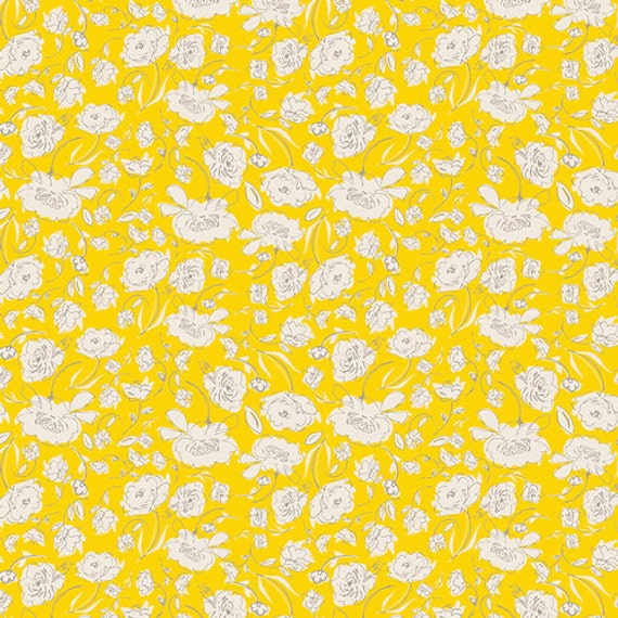 Changing Pad Cover >> Wonderful Things Blooming in Yellow >> Made-to-Order yellow changing pad, flower changing pad, floral change pad
