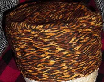 African Kufi Hat Cotton Fabric Handmade Size Large