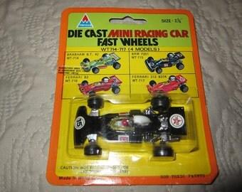 "Vintage Tin Toys Diecast Car : Formula 1 MOC  Hong Kong 2 3/4"" New BRM P201 Caltex"