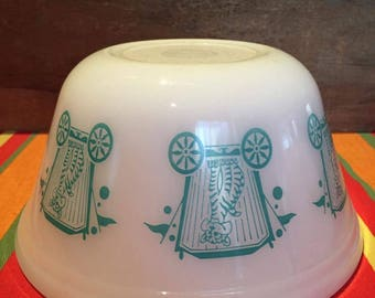 Bowl federal turquoise circus