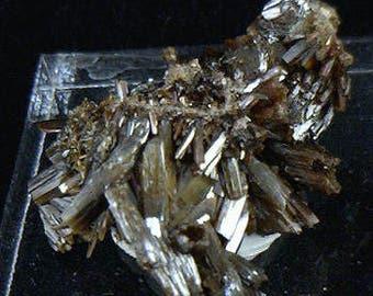 Arsenian Vanadinite Crystals, Mexico - Mineral Specimen for Sale