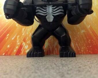 Venom Lego Inspired Keyring