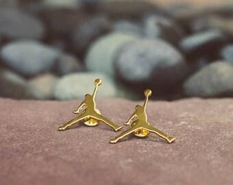 x10 Gold Nike Pin For Sale Air Jordan Style