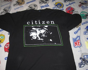CITIZEN SHIRT - sz lg - indie emo punk tigers jaw afi title fight tee nyhc