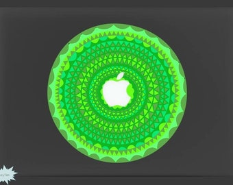 Flowers Luminous Decal Night Glow Decal Night-shining Decal Mac Stickers Macbook Decals Macbook Stickers Mac Decal Stickers Laptop Decal