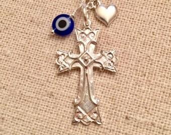 Sterling Silver Armenian Cross