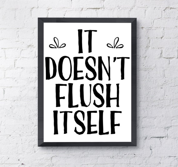It is an image of Smart Funny Bathroom Signs Printable