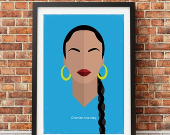 Sade Original Icon Print (Icon Series)