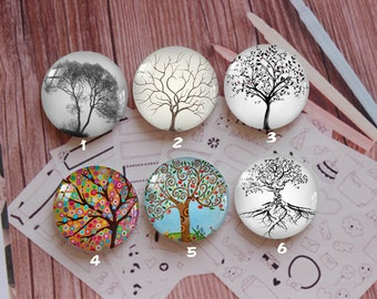 Handmade Round Photo glass Cabochons,8mm -58mm size Cute Animal Style Butterfly More-ZY866