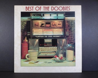 Best Of The Doobies Vintage Vinyl LP Remastered RCA  / 7th Album / China Grove / Takin It To The Streets / Black Water / Listen To The Music