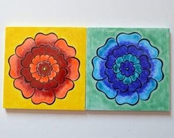 Decorative Turkish tile (set of 2)
