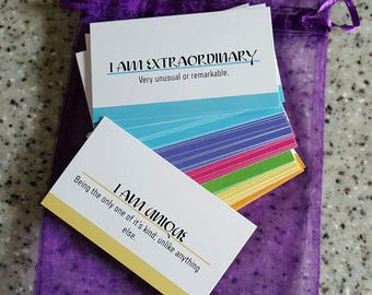 Color Therapy Affirmation Deck
