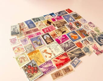 50 Postage Stamps from Italy