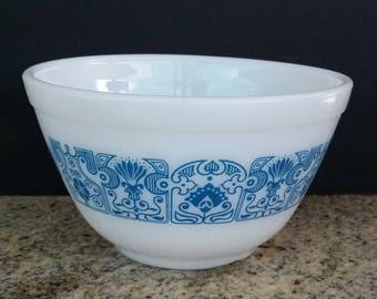 Pyrex Horizon Blue 401 Mixing Bowl