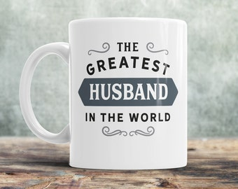 Present for husband etsy husband gift greatest husband husband mug birthday gift for husband husband negle Images