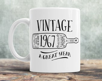 50th Birthday, 1967 Birthday, 50th Birthday Gift, 50th Birthday Idea, Vintage, 1967, Happy Birthday, 50th Birthday Present for 50 year old!