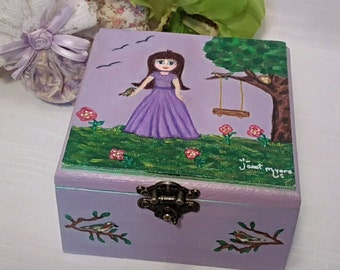 Pine jewelry box Etsy