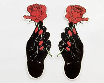 Gimme Rose Stickers